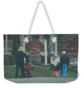 Going To Town Weekender Tote Bag