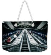 Going Underground Weekender Tote Bag