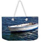Going With The Flow Weekender Tote Bag
