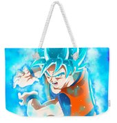 Goku In Dragon Ball Super  Weekender Tote Bag
