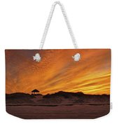 Gold Above Them Thar Dunes Weekender Tote Bag