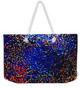 Gold And Glitter 17 Weekender Tote Bag