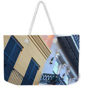 Gold And Gray In New Orleans Weekender Tote Bag