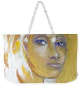 Gold And Iridescents Weekender Tote Bag