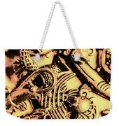 Gold Aquarium Weekender Tote Bag