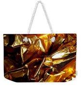 Gold Art Weekender Tote Bag