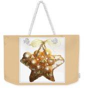 Gold Ball Star Weekender Tote Bag