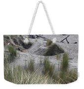Gold Beach Oregon Beach Grass 15 Weekender Tote Bag