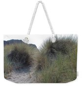 Gold Beach Oregon Beach Grass 5 Weekender Tote Bag