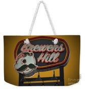 Gold Brewers Hill Weekender Tote Bag