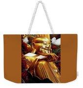 Gold Buddha 5 Weekender Tote Bag