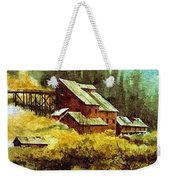 Gold Coin Mine Montana Weekender Tote Bag