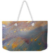 Gold Dust Abstract Painting Weekender Tote Bag
