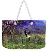 Gold Finch In The Spring Time Weekender Tote Bag