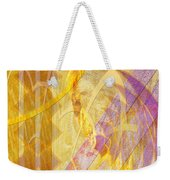 Gold Fusion Weekender Tote Bag