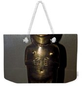 Gold Indian Statue Weekender Tote Bag