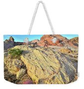 Gold Lava Flow In Valley Of Fire Weekender Tote Bag