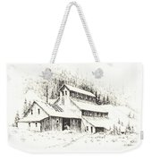 Gold Mine Cable Ghost Town Montana Weekender Tote Bag