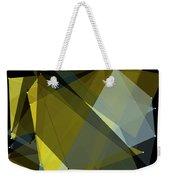 Gold Mine Polygon Pattern Weekender Tote Bag