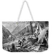 Gold Mining, 1853 Weekender Tote Bag
