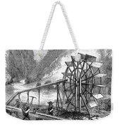 Gold Mining, 1860 Weekender Tote Bag