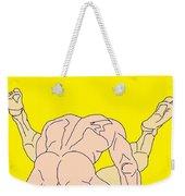 Gold Nite Weekender Tote Bag