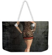 Gold Plated Invitation Weekender Tote Bag