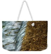 Gold Rush Abstract Weekender Tote Bag