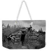 Gold Rush Cabin - Yukon Weekender Tote Bag