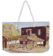 Gold Town By Superstition Mountains Weekender Tote Bag