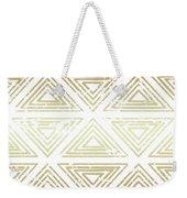 Gold Tribal Weekender Tote Bag