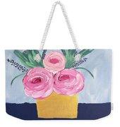 Gold Vase  Weekender Tote Bag