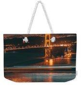 Golde Gate Bridge Weekender Tote Bag
