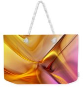 Golden Abstract 042711 Weekender Tote Bag