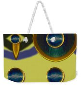 Golden Abstracte Weekender Tote Bag