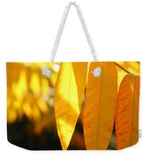 Golden Accent  Weekender Tote Bag