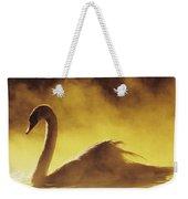 Golden African Swan Weekender Tote Bag