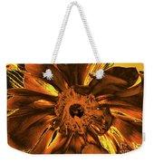 Golden Anemone Weekender Tote Bag