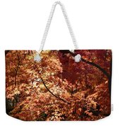 Golden Autumn Sunshine Weekender Tote Bag