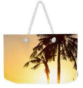 Golden Beach Tropics Weekender Tote Bag