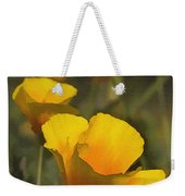 Golden Beauties Weekender Tote Bag