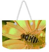 Golden Bee Weekender Tote Bag