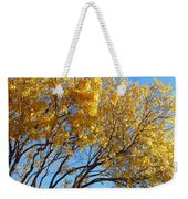Golden Boughs Weekender Tote Bag