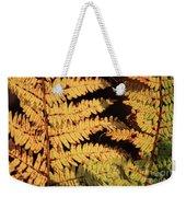 Golden Bracken Weekender Tote Bag