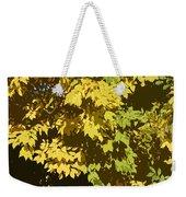 Golden Branches Weekender Tote Bag