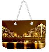 Golden Bridge Weekender Tote Bag