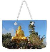 Golden Buddha In Vietnam Dalat Weekender Tote Bag