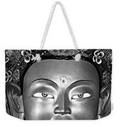 Golden Buddha Monochrome Weekender Tote Bag