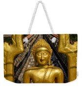 Golden Buddhas Weekender Tote Bag