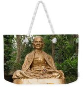 Golden Buddhist Monk Weekender Tote Bag